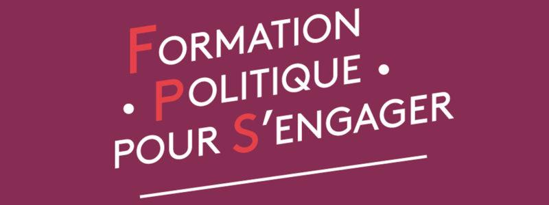 Formation politique pour s'engager