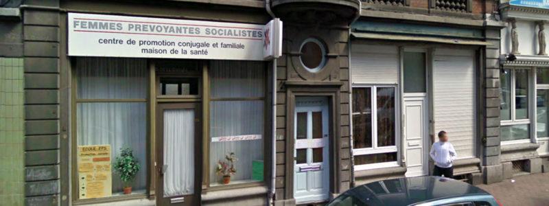 Facade centre de planning familial FPS de Verviers